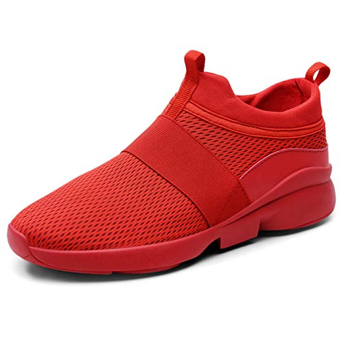 nobrand MRAKII Men's Sneakers Breathable Mesh Sneakers Running Shoes solid Color wear Resistant Sports Traveling Business Trips