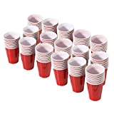 GoPong 6oz Red Party Cups 160 Pack - Great for Parties, Tasting Flights and Games
