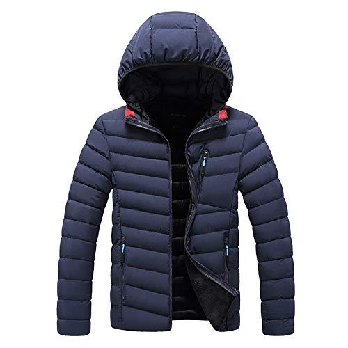 Herren Winter Jacke Steppjacke Winterjacke gefüttert mit Stehkragen warme modische Winterjacke Leichte Gefütterte Übergangsjacke Jacke für Männer
