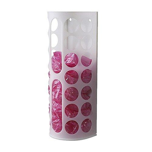 IKEA VARIERA - dispensador de bolsas de plástico, blanco