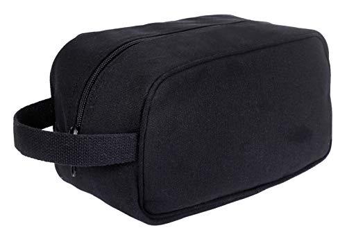 Rothco Canvas Travel Kit, Black