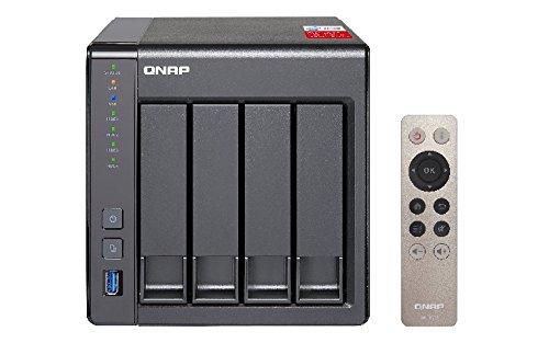 QNAP Turbo NAS TS-451+-2G Unita di Stoccaggio di Rete, Nero, Enclosure