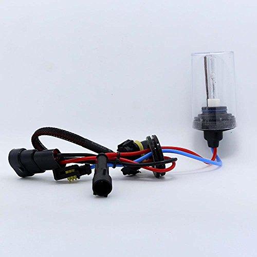 Boomboost New Car Xenon HID Ampoule une paire de xénon HID lampe H1 3000 K