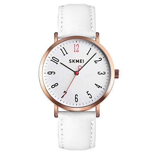 SKMEI Women Waterproof Watch, Wrist Watch for Lady Girls Dress Casual Analog Quartz Watches for Women