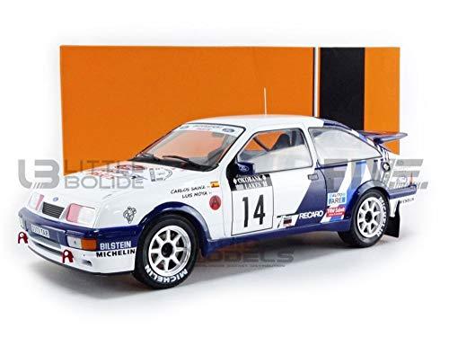 Ixo Models 1988 Ford Sierra RS Cosworth 14 Sainz/Moya 1000 Lakes Rallye...