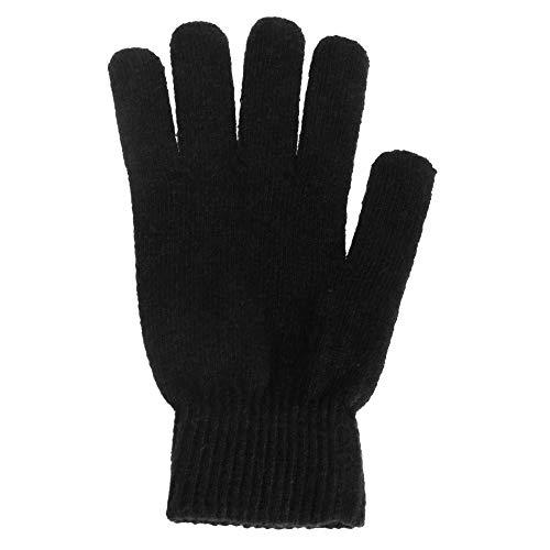 Gants magiques en mélange de laine - Homme (Taille unique) (Noir)