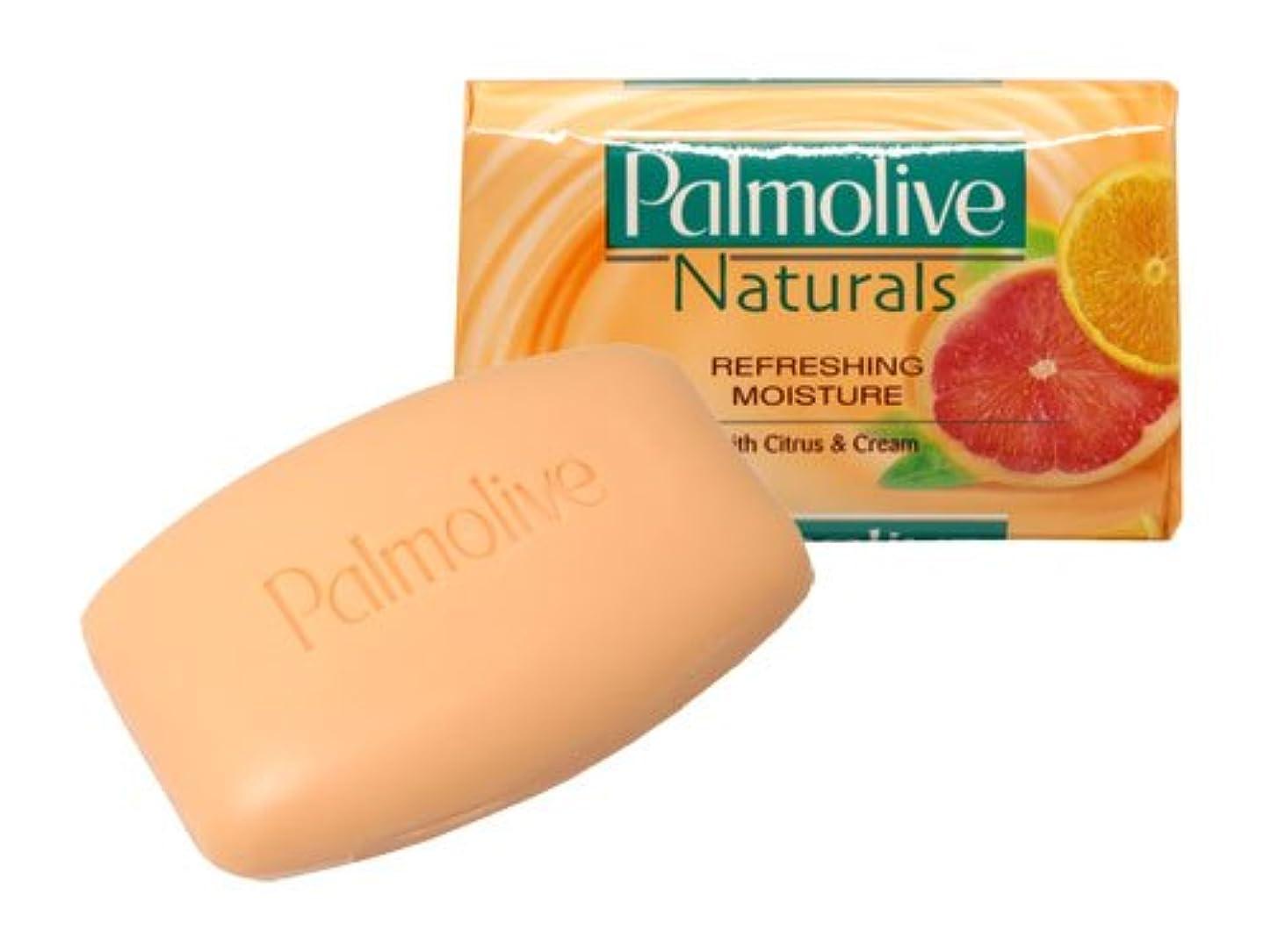 思いやりのある抜粋適応的【Palmolive】パルモリーブ ナチュラルズ石鹸3個パック(シトラス&クリーム)