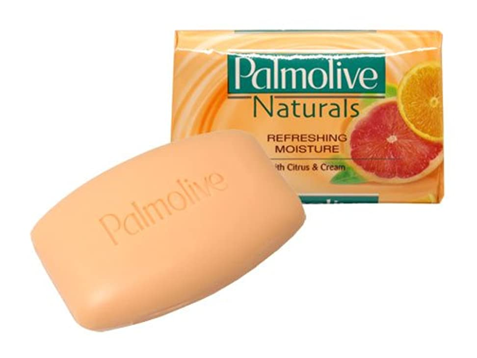 先史時代のクリープまあ【Palmolive】パルモリーブ ナチュラルズ石鹸3個パック(シトラス&クリーム)