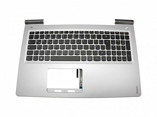 Lenovo IdeaPad 700-15ISK (80RU) Original Tastatur inkl. Topcase DE (deutsch) schwarz/Silber mit Backlight