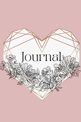 Rose Gold Journal Notebook Diary Planner