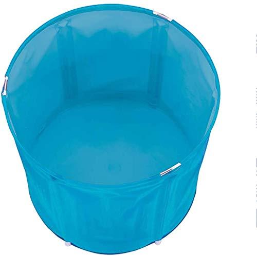 Opvouwbare badkuip, badkuip, volwassenen, draagbaar, voor thuis, spa, badkuip, dikkere nylon emmer, badkuip voor familiebad SPA blauw 1 1, blauw