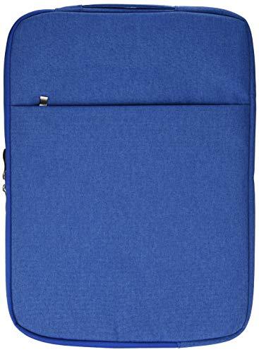 Laptoptas met jeans-effect, 15 inch (38,1 cm), voor Asus Chromebook, blauw