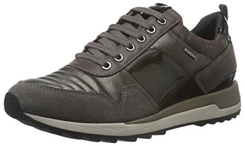 Geox D Aneko B Abx A, Zapatillas para Mujer, Marrón (Chestnut/ Coffee C6457), 35 EU