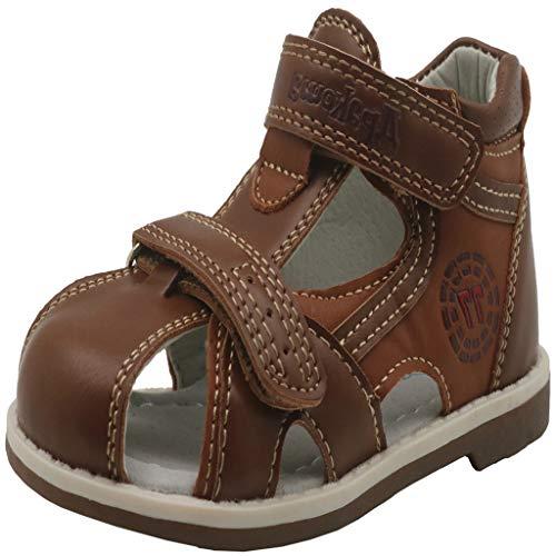 Sandalias De Verano para Bebé NiñA Zapatillas De Playa Baotou Antideslizante Zapatos OrtopéDicos Transpirables Huecos Zapatos Altos Confort De Fondo Suave Zapatos De NiñO Regalo De CumpleañOs