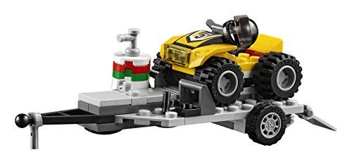 Super Équipe de Course Tout-Terrains Camion Pickup LEGO City - 60148 - 239 Pièces - 7