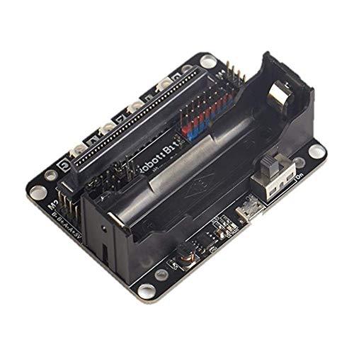 CLJ-LJ Kit DIY módulo Robot: bit Plug&Play 5V Multi-funcional Expansión Junta Ajuste para Micro:bit Display Accesorios