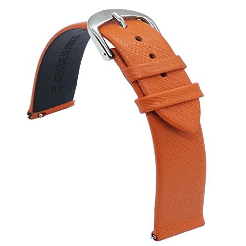 Chtom Correa de reloj de silicona suave y resistente al agua con costuras deportivas, de goma, color negro, costuras de 18 mm, 20 mm, 22 mm, 24 mm (color: costuras azules)