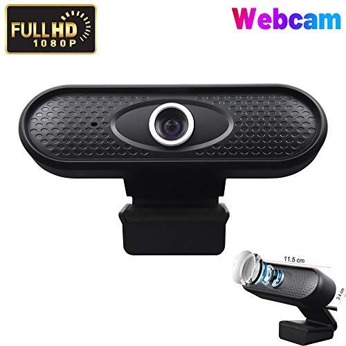 1080P HDウェブカメラPCネットワークカメラUSBミニコンピューターカメラ内蔵マイク柔軟な回転クランプビデオ通話録音会議に使用