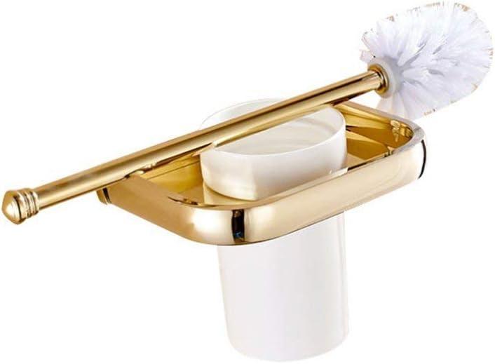 QiXian Toilet Brush Waste Bin Holder Set Bathroom W New products, world's highest quality popular! 1 year warranty