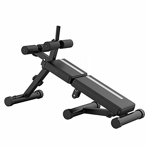 WZR Adjustable Foldable Bench,Workout Bench Sit Up Flat Incline Decline Exercise Equipment,Weight...