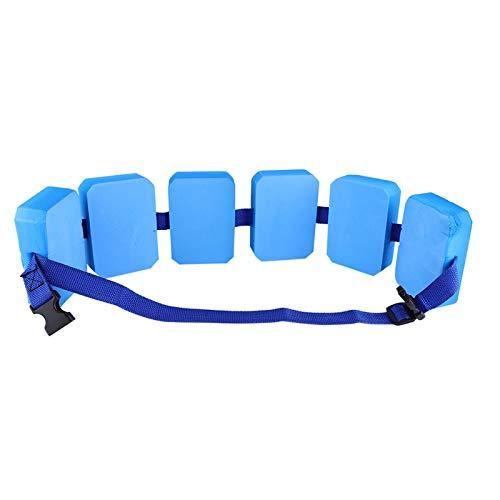SOONHUA Kinderschwimmgürtel Leichte Lebenssicherheit Schwimmen Lernhilfe Taillenschwimmer Eva Verstellbarer Gürtel für Kinder Schwimmtraining