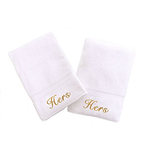 Hers and Hers Hand Towels