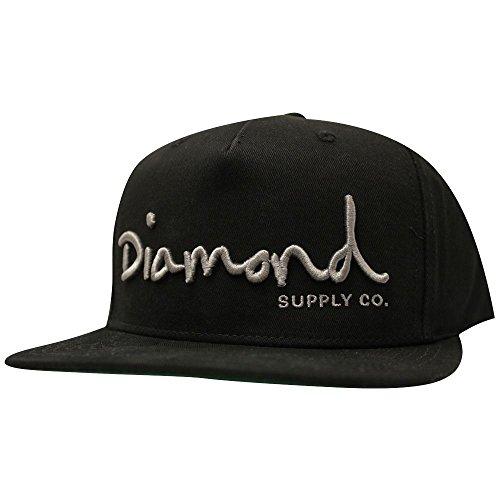 Diamond Supply Co. OG Script Snapback Black