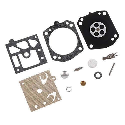 BGTR 12 Reparación de PC/Sistema de carburador Carb empaque del diafragma Fit Kit Compatible for Kit de reparación de Walbro K22-HDA Echo Motosierra Las Piezas de Recambio