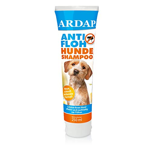 ARDAP Anti Floh Shampoo für Hunde 250ml - Nachhaltiger Flohschutz & hygienische Fellpflege