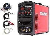 TIGMIG Soldador Inverter TIG TM 170 P HF TIG Maquina de Soldar DC Unidad de Soldadura con 170 amperios con encendido HF, Función de pulso, MMA, IGBT