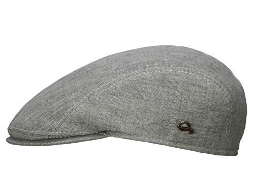 Göttmann Jackson Schirmmütze mit UV-Schutz aus Leinen - Hellgrau (10) - 62 cm