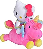 Simba Hello Kitty - Peluche con Unicornio, 35 cm (Simba, 9281007)