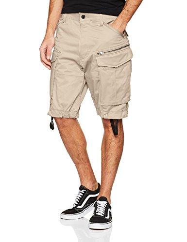 G-Star Rovic Zip Loose 1/2 Short, Beige (Dark Brick), Talla del Fabricante: 29 para Hombre