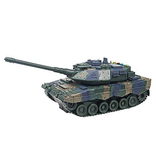 DONGKUI 2.4GRC Carro De Juguete Tanque 1:14 Escala Batalla Para Niños Grande...