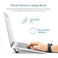 Andana El Soporte Más Pequeño, Invisible, Portátil, Plegable, Mini y Micro Para Laptop / Tableta
