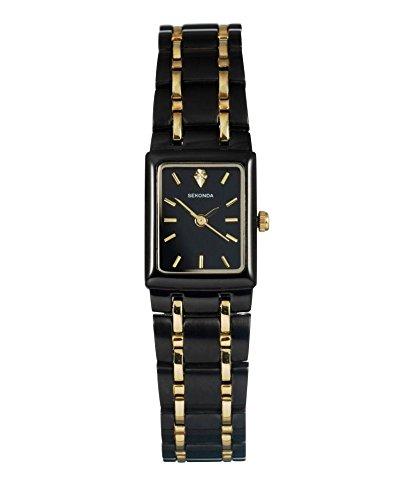 Traje de neopreno para mujer Sekonda ' negro y dorado reloj de pulsera (990730522)