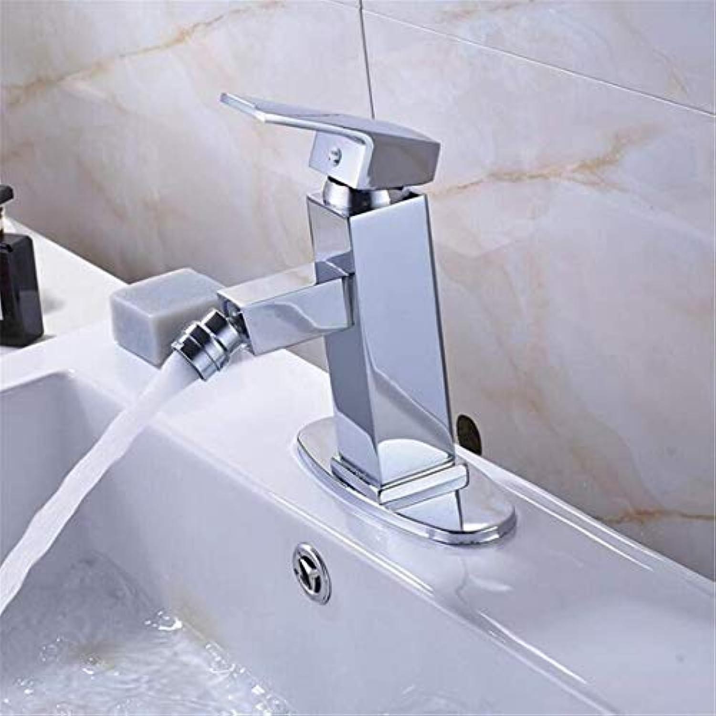 Retro Tippen Moderner Luxuskupfermischer Badezimmer Bidet Wasserhahn Einhebel Hei Und Kalt Drehen Waschtisch Mischbatterie