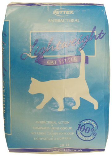 Pettex Litière pour Chat antibactérienne 20 l