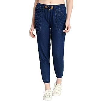 FlyingBird Jogger Fit Women's Dark Blue Jeans