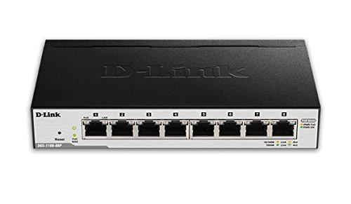 switch 8 puertos poe fabricante D-Link