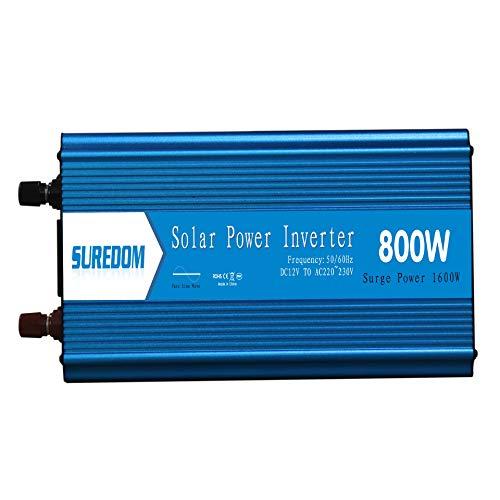 AZHom 800W Inverter, Sinus-Wechselrichter, Solarwechselrichter PV Inverterstromwandlungs UE