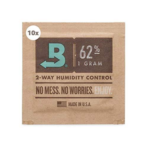 kogu Boveda Humidipack 2-Way Humidifer Mini 62 Prozent inkl J.Hülle GRATIS (10x 1g)