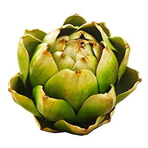 Silk Flower Arrangements East Majik Artificial Plants Fake Green Bromeliad Flower for Home Decor