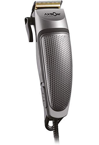 Professioneller Haarschneider mit Titan-Beschichtung, Haarschneidemaschine mit 3000 U/min, Edelstahl und Titan, mit 4 austauschbaren Aufsätzen, professioneller Haarschneider mit Kabel