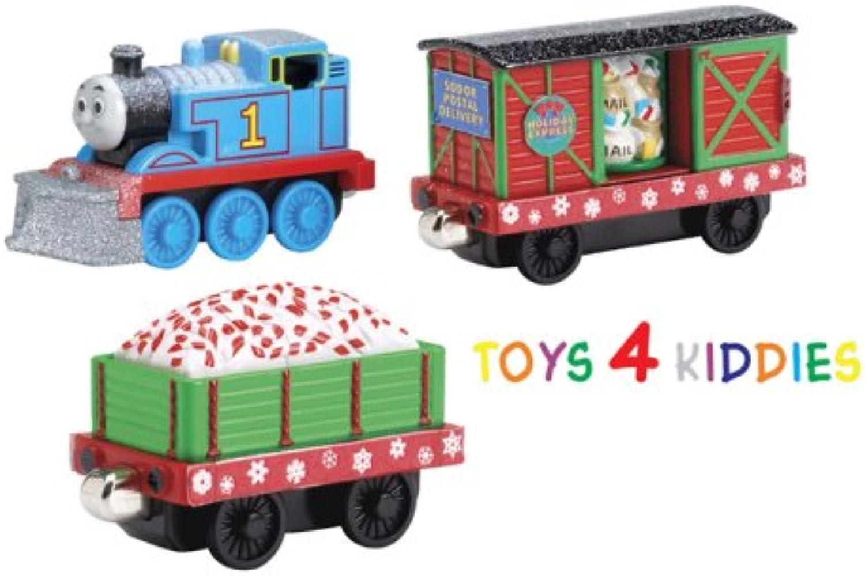 Thomas & the Holiday Express Cars - Take Along 76040 - Weihnachtszug B000M0WJMK Innovation  | Angenehmes Gefühl