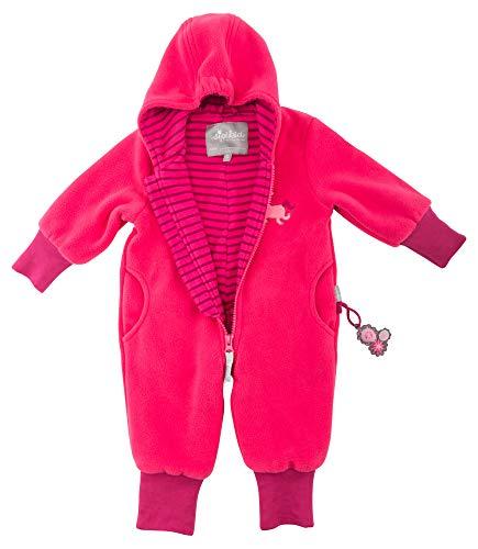Sigikid Baby-Mädchen Fleece Overall, Schneeanzug, Rot (Rot (Raspberry Sorbet 678) 678), 68