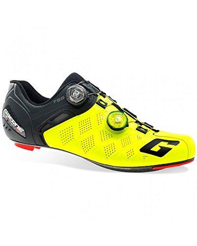 Gaerne Carbon G. Stilo+ Scarpe Road Ciclismo, Yellow - Giallo, 43