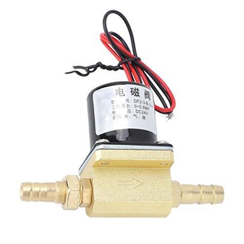 FLY MEN Herramientas Profesionales Válvula solenoide de Soldadura G1 / 8 0~0.8MPA para Gas de Agua Aron CO2 válvula eléctrica válvula de válvula solenoide Industria, Máquinas (Voltage : AC 220V)