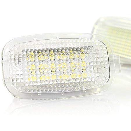 2x Do Led Tk16 Led Smd Innenbeleuchtung Fußraum Kofferraum Spiegel Handschuhfach Einstiegs Türbeleuchtung Xenon Optik Auto