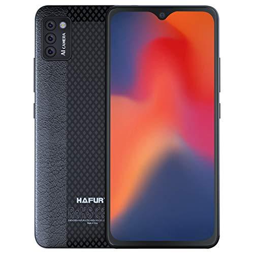 HAFURY Smartphone ohne Vertrag,4G Dual Sim Handy, 5,5\' HD Display, 2+16GB,128 GB erweiterbar, Face ID, Schwarz